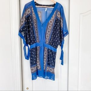 Free People Tribal Printed Tunic Dress